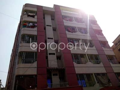 A well-constructed 1200 SQ FT flat is ready for Rent in Halishahar close to Halishahar Godown