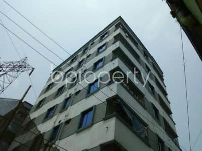 Reside conveniently in this well constructed 620 SQ FT flat for sale in Shiddhirganj, near Hazi Ibrahim Khalil Shopping Complex