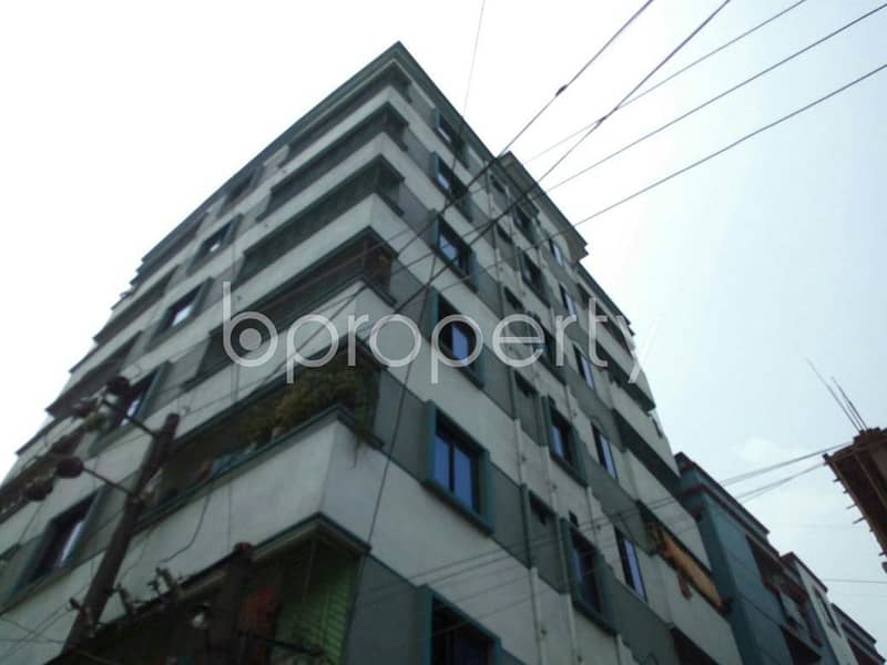 Reside conveniently in this well constructed 600 SQ FT flat for sale in Hirazheel, near Brac Bank Limited