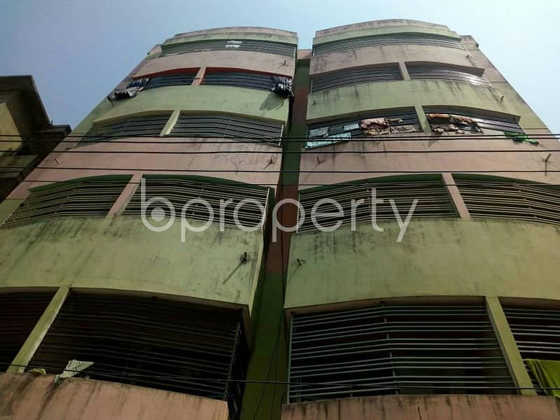Affordable 1150 SQ FT flat is up for sale in Chandgaon near Eastern Bank Limited
