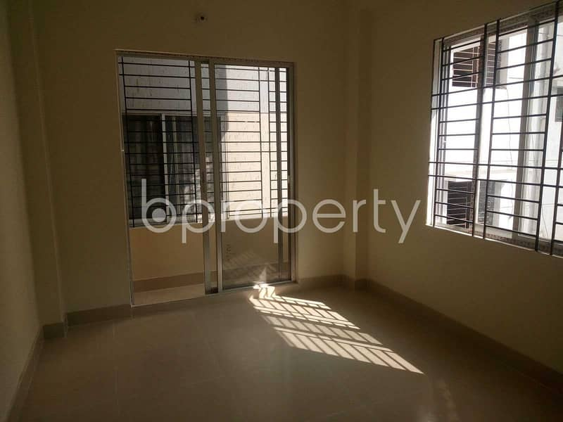 Situated In Uttara Near Uttara Police Station, An Apartment Is Up For Rent