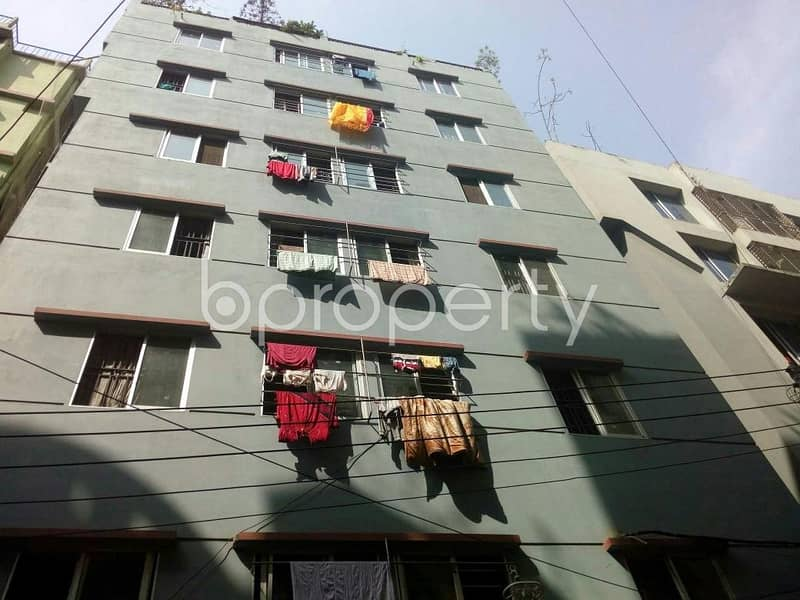 With A Very Low Budget, A 900 Sq Ft Residential Flat Is On Rent At Sugandha Residential Area Nearby Chatogram Metro School