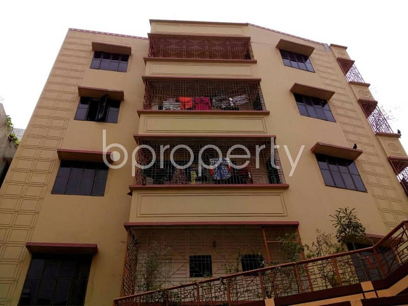 Affordable 1150 SQ FT flat is up for rent in Taltola near Halim Foundation Model High School