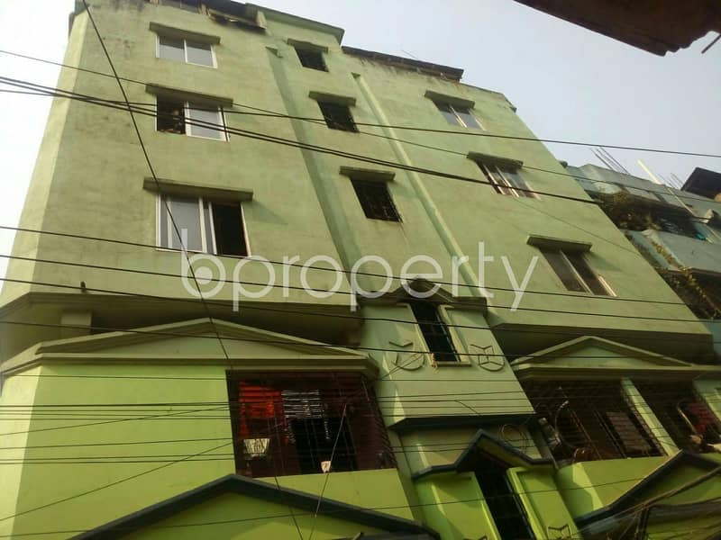 Ready flat of 875 SQ FT is now for rent in Lal Khan Bazaar nearby Mercantile Bank Limited