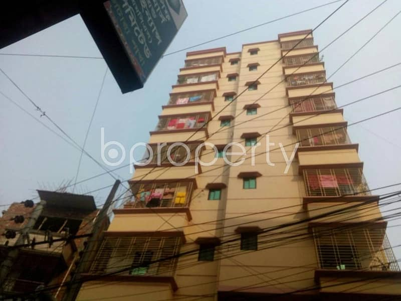 1100 Sq Ft Fine Flat Is Now For Sale Which Is In Badda Near To Brac Bank