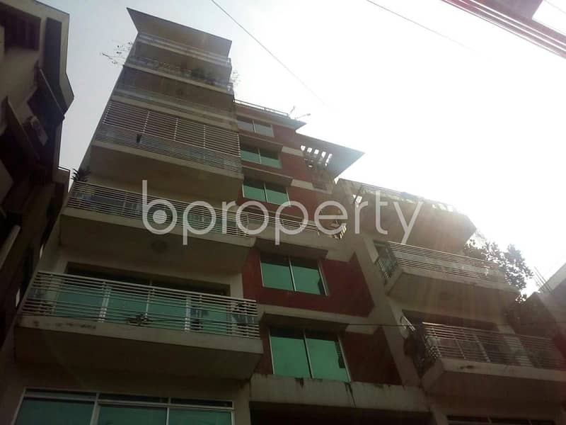 Reside conveniently in this well constructed 1650 SQ FT flat for sale in Nikunja, near Port City International University