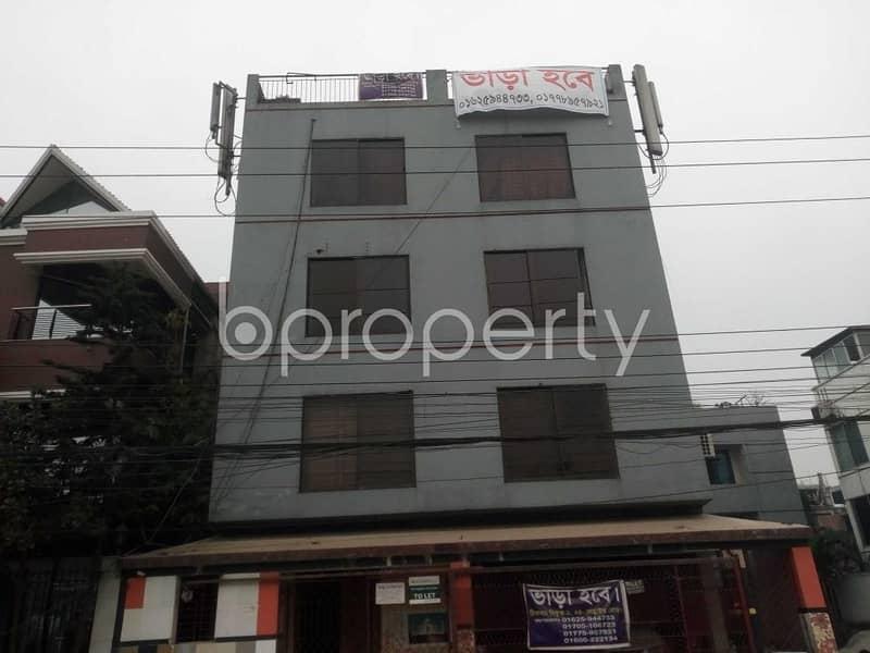 750 Sq. Ft. Commercial Office For Rent Near Nikunja Model College In Nikunja