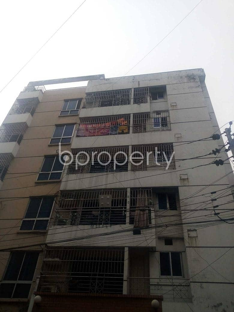 At Uttara A Nice Flat Up For Sale Near Uttara Adhunik Medical College Hospital.