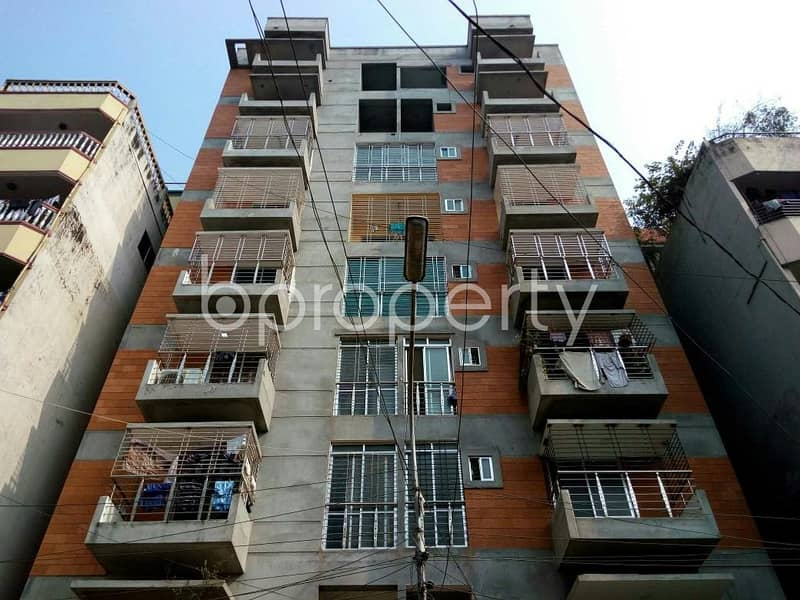 Well developed Flat up for sale in Mohammadpur near Tokyo Square, of 956 SQ FT