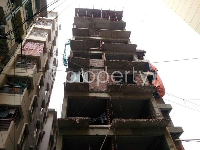 A Rightly Planned Flat Is Found For Sale In Shegunbagicha Nearby Agrani Bank Limited