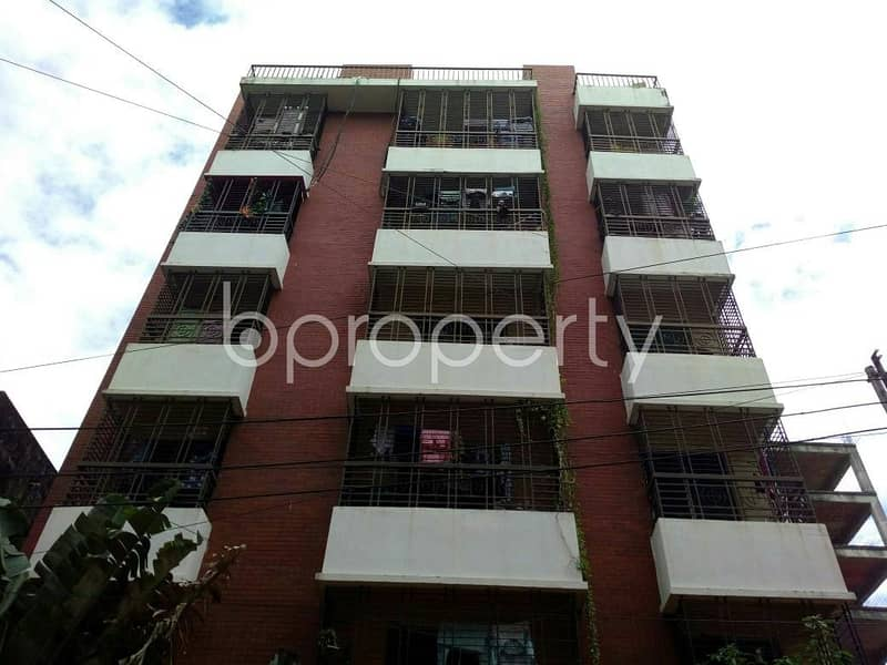 In Halishahar Nearby Halishahar Police Station, Beautiful Apartment Is Ready For Sale.