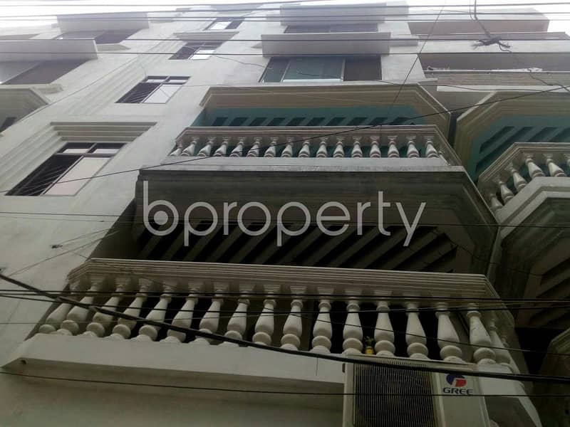 A 1150 SQ FT budget concern rental flat is here located at 15 No. Bagmoniram Ward near to Chatogram Southpoint School