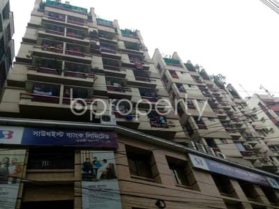 A rightly planned 150 SQ FT commercial space is found for sale in Gopibag, near Mugda Medical College And Hospital