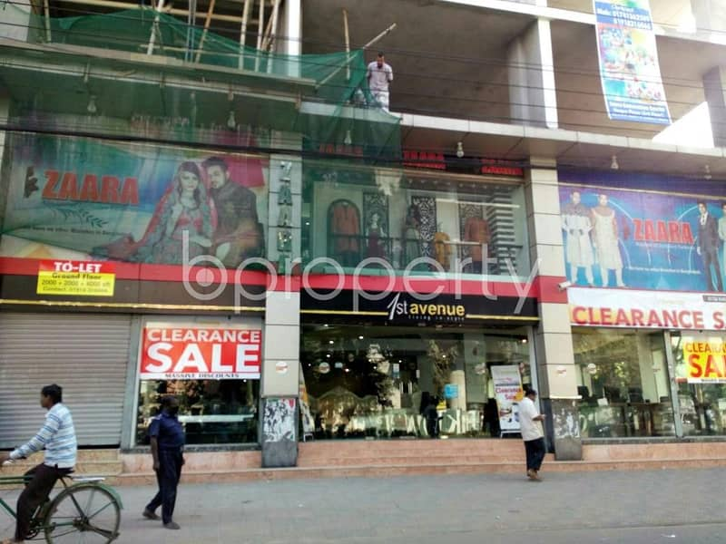 A fine commercial space of 2100 SQ FT for rent is available in Gulshan, near Police Plaza