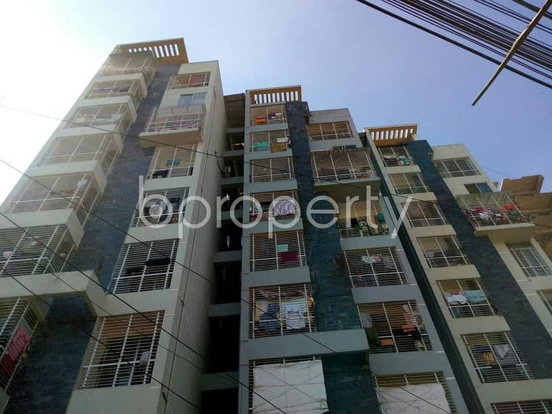 A nicely constructed flat of 1300 SQ FT can be found in 4 No Chandgaon Ward for sale, near Chattagram International Medical College & Hospital