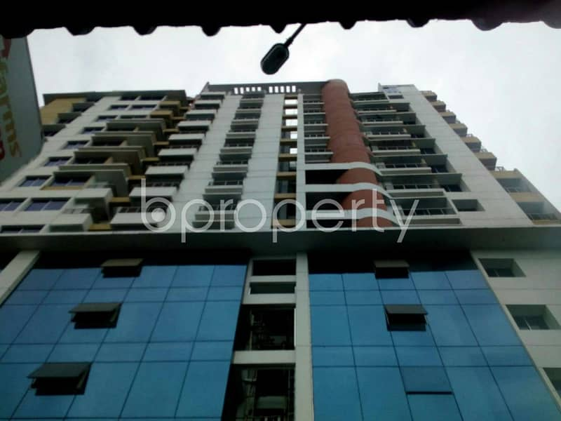 Check this fine looking flat of 1292 SQ FT offered for sale nearby Tolaram College at Mirpur