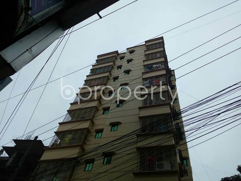 Planning To Move In This 1100 Sq Ft Flat Which Is For Sale In Badda Near To High Commission Of India