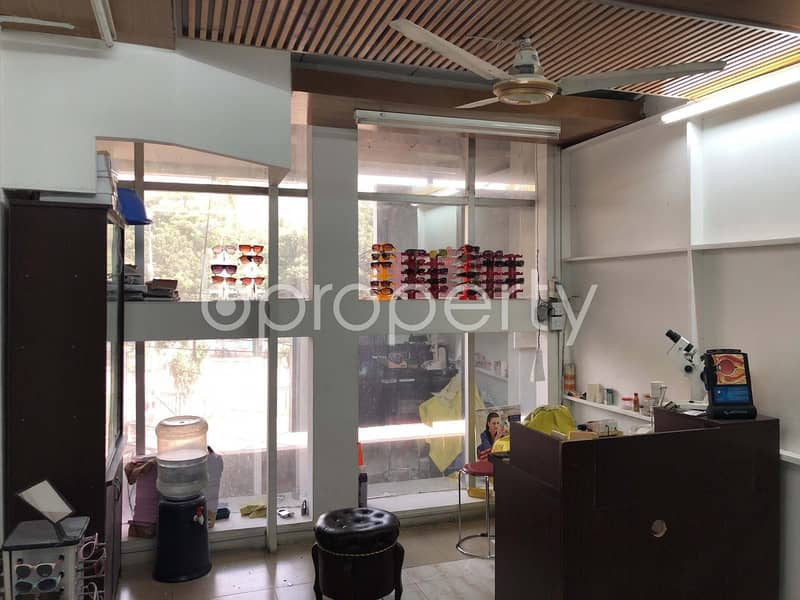 In Dhanmondi, 496 Sq. Ft. Commercial Shop For Sale Close To Eastern University