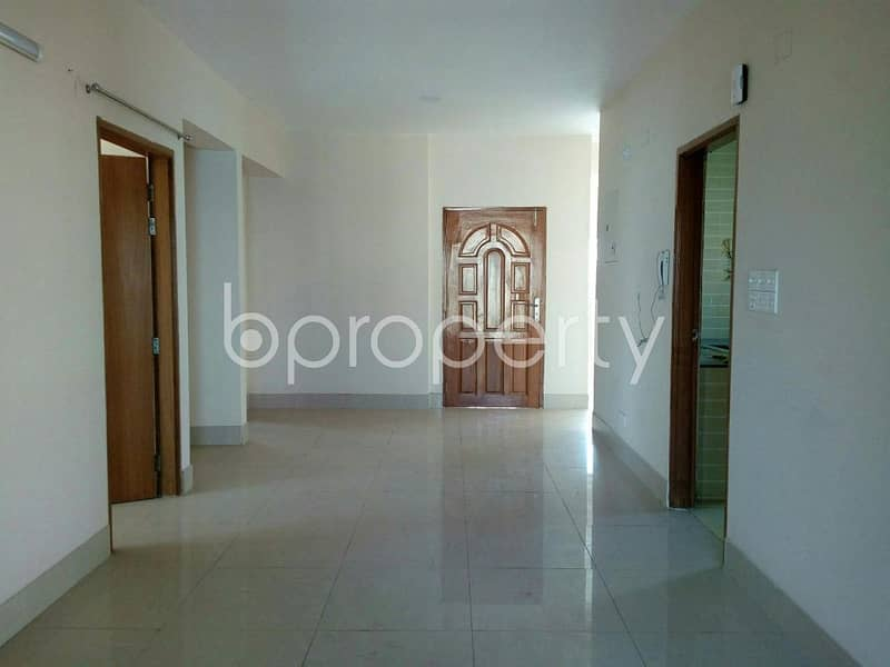 A Well Spacious Flat Of 2100 Sq Ft Is Offered For Sale Located At Bashundhara R/A Near Oxford Foundation School