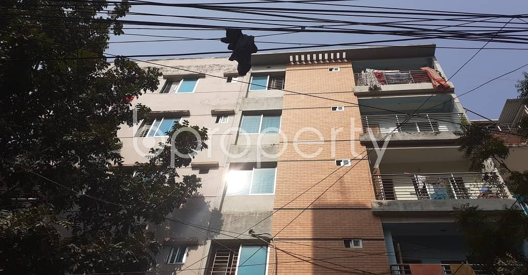 A Nicely Planned Flat Is Up For Rent In Lalmatia Nearby City Hospital & Diagnostic Center