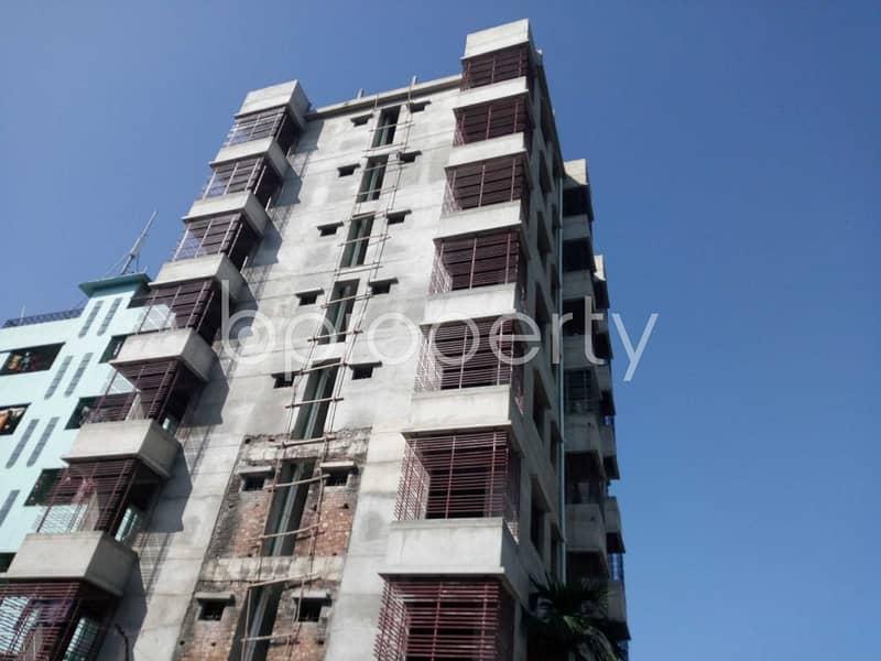 An Apartment Is Ready For Sale At Halishahar , Near Masjid-e-Baitul Azim.