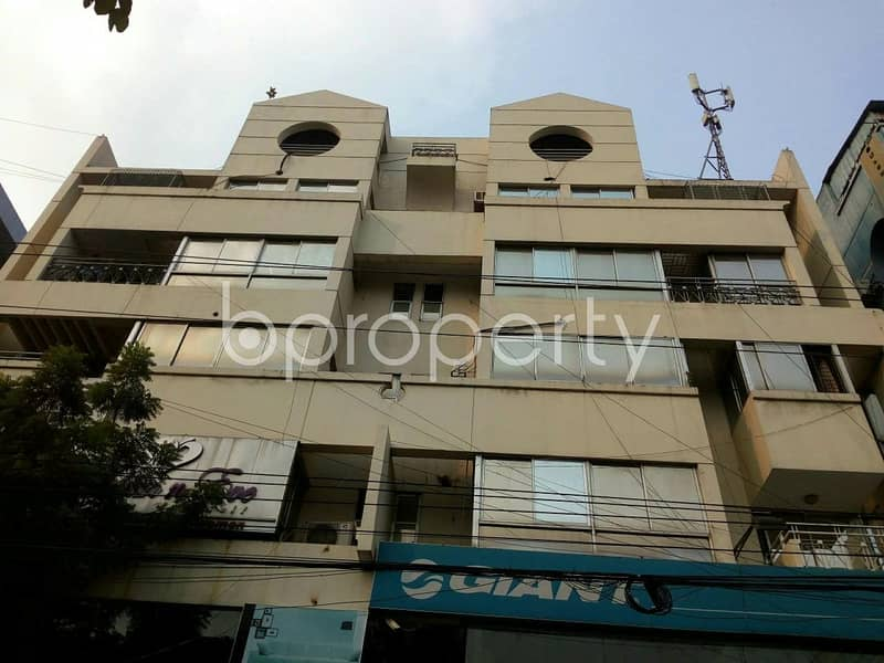 A well constructed commercial office of 2400 SQ FT is offered for rent located at Gulshan 1 near Gulshan 1 Circle