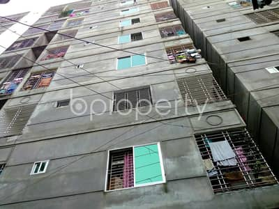 A flat for residential purpose in the hub of Chashara with 1214 SQ FT close to Labaid Hospital is up for sale