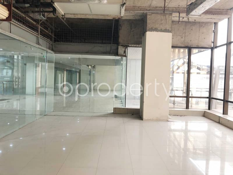 A Well Planned Shop Is Available For Rent In Bashundhara R-A