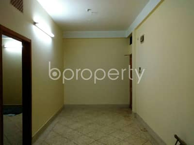 In the peaceful neighborhood of A Gafur Road, a ready vacant flat of 933 SQ FT is up for rent close to CMCH