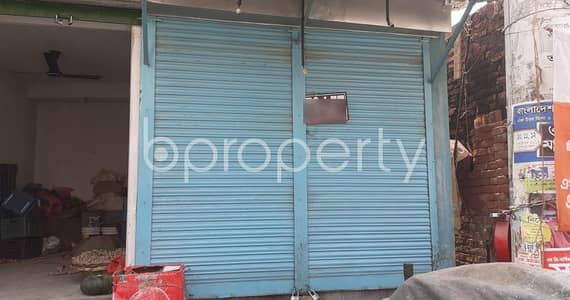 At Mirpur, an 100 Sq Ft Well Fitted Shop Is To Rent Near To Prince Bazar