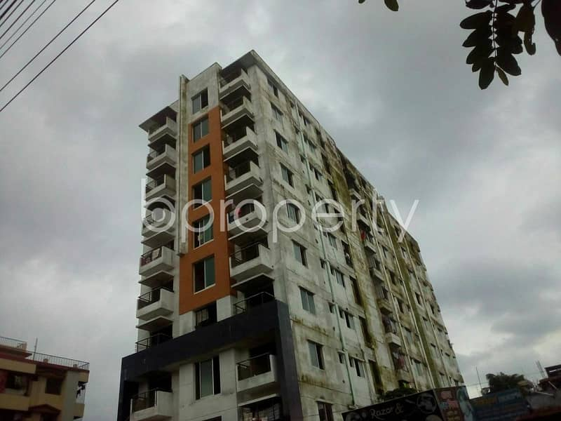 Own this 1656 SQ FT residential apartment waiting to get sold at Halishahar nearby Khan Medical Hall