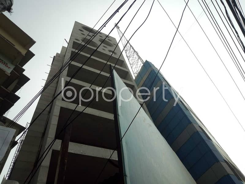 At Dhanmondi, an 3200 Sq Ft Well Fitted Office Is To Rent Near To Ideal College