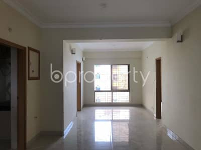 3 Bedroom Apartment for Rent in Bashundhara R-A, Dhaka - Comfortable Flat For Rent In Bashundhara R-a Near North South University