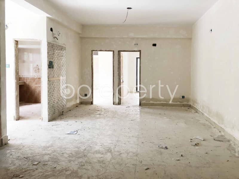 A Well Developed Flat Is Up For Sale In Bashabo Nearby Kadamtala Purba Bashabo School & College