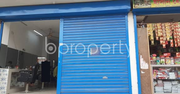 Shop for Rent in Bashundhara R-A, Dhaka - A Shop Is Up For Rent In Bashundhara Near Appollo Hospital.