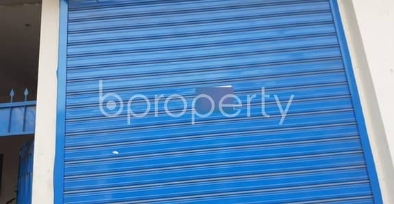 Shop for Rent in Bashundhara R-A, Dhaka - A Shop Is For Rent In Bashundhara Near Appollo Hospital.
