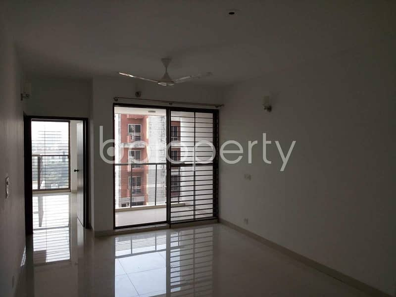 Visit This Flat For Rent Covering An Area Of 1850 Sq Ft In Banani Nearby National Medical Center Ltd.