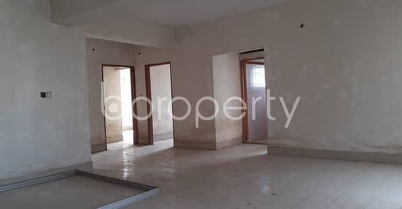 Grab This Flat Up For Sale In Adabor Near Dutch-bangla Bank Limited