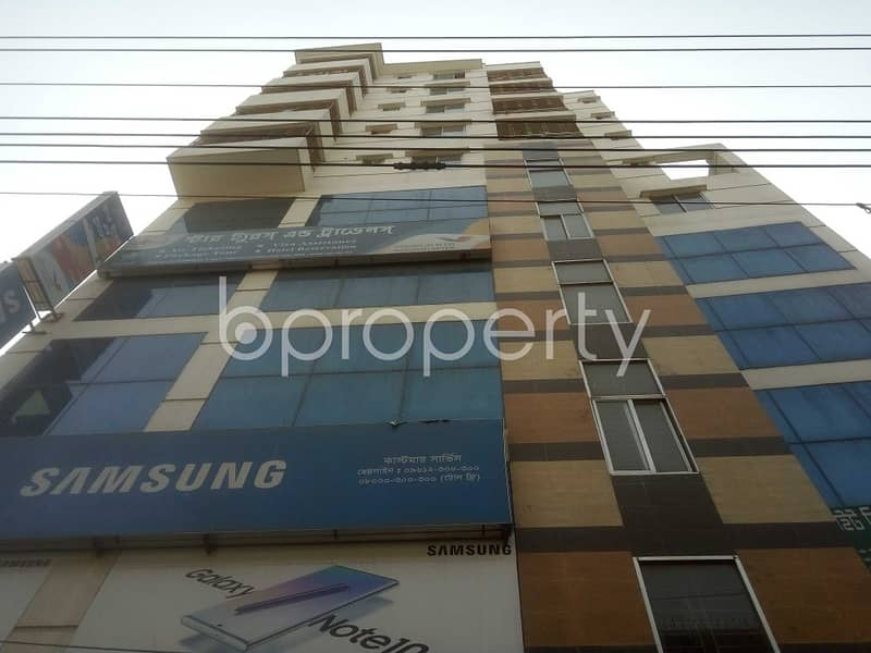 1300 Sq. Ft Office Space For Sale In West Shewrapara Near Baitun Nur Jame Masjid