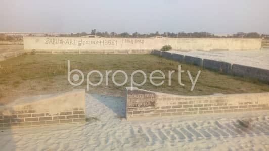 Plot for Sale in Uttara, Dhaka - A Residential Plot Which Is Up For Sale At Uttara Near To E-Passport Office Data Center.