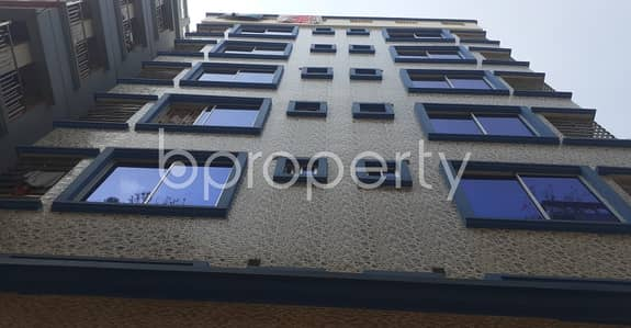 3 Bedroom Apartment for Rent in Banasree, Dhaka - A Nice Residential Flat Of 1200 Sq. Ft. For Rent Can Be Found In Banasree Nearby National Ideal School