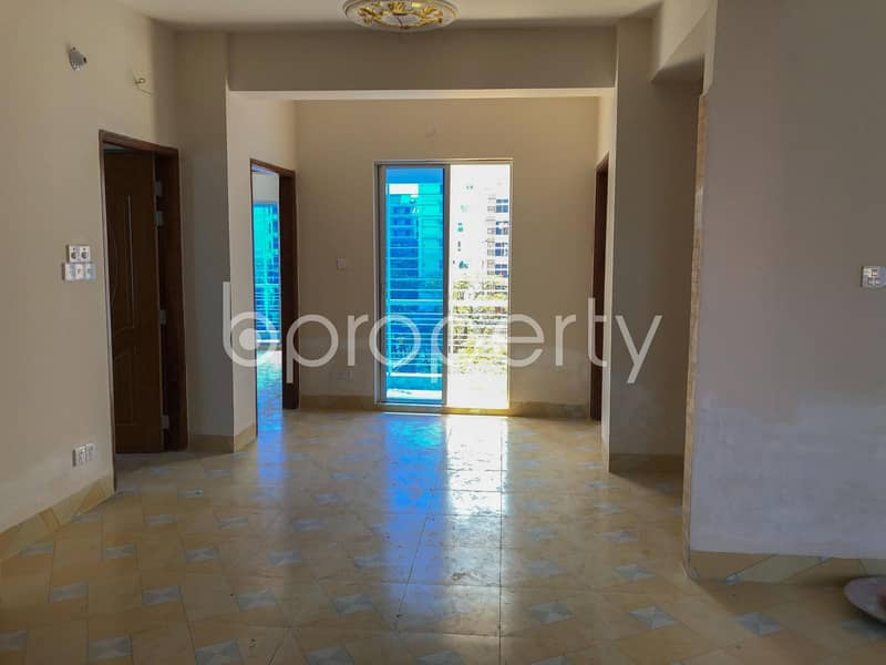 This Perfectly Positioned 1600 SQ FT Apartment For Sale In Bashundhara R-A Near Basundhara Residential Area Puja Mondop