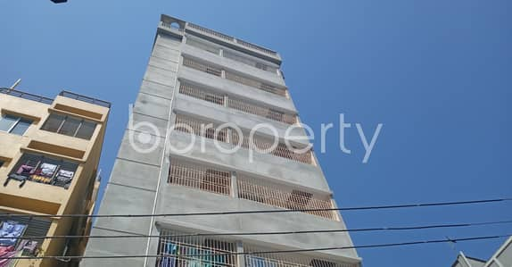 3 Bedroom Flat for Sale in 11 No. South Kattali Ward, Chattogram - Check This Nice 825 Sq Ft Flat For Sale At Dakshin Kattali Nearby Dr. Fazlul Hazera Degree College