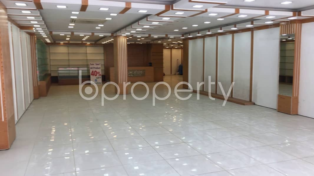 Lucrative Business Space Up For Rent In Uttara Near To Rajuk Commercial Center