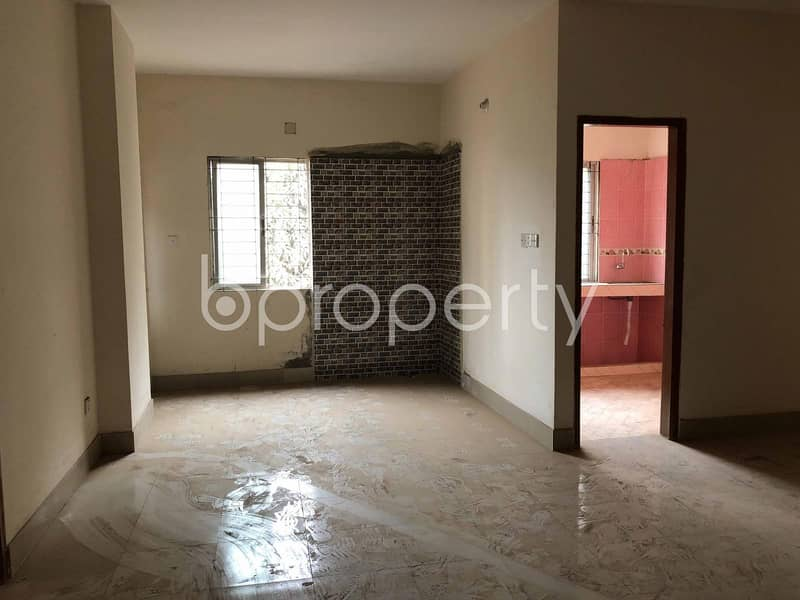 See This Attractive 1620 SQ FT Apartment For Sale At Dakshin Khan Nearby Baitul Aman Mosjid