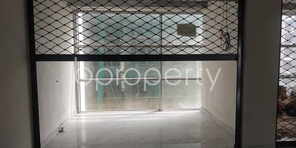 Shop for Rent in Bashundhara R-A, Dhaka - In Bashundhara R-A Near Atimkhana Madrasa This Office Space Is Up For Rent.