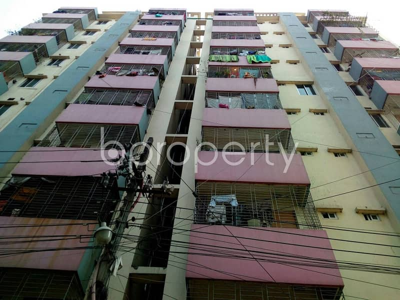 In The Location Of Gazipur, An Apartment Is For Sale Near Masjide Khadija (ra)