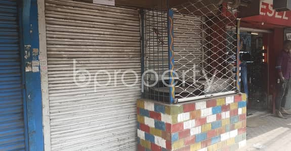 Shop for Rent in Hatirpool, Dhaka - At Hatirpool, 250 Sq Ft Well Fitted Shop Is ready To Rent Near To EBL ATM