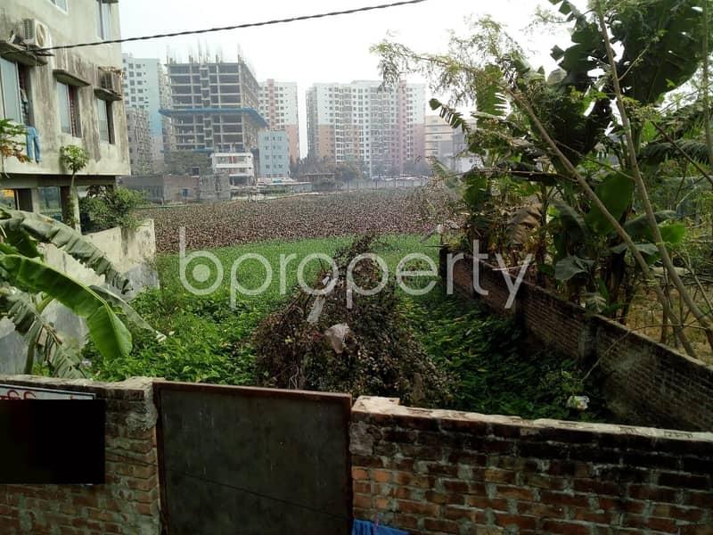 Residential Plot Is Available For Sale In Khilkhet Nearby Baitut Taz Jama Mosjid