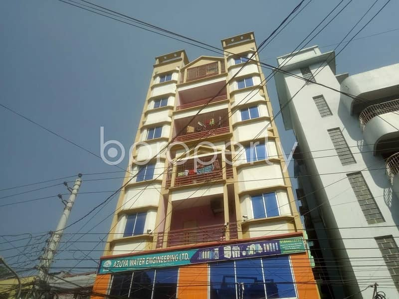 Take a Look at This 650 Sq Ft Office to Rent in Mirpur Near To Brac Bank